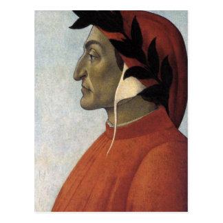 Carte Postale Portrait de Dante