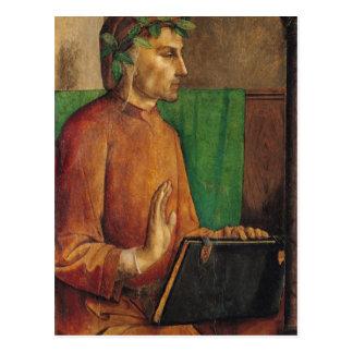 Carte Postale Portrait de Dante Alighieri, c.1475