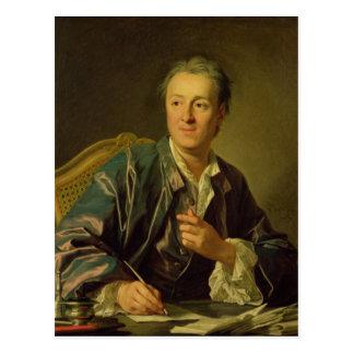 Carte Postale Portrait de Denis Diderot 1767