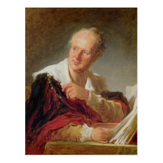 Carte Postale Portrait de Denis Diderot c.1769