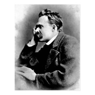 Carte Postale Portrait de description de Friedrich Nietzsche,