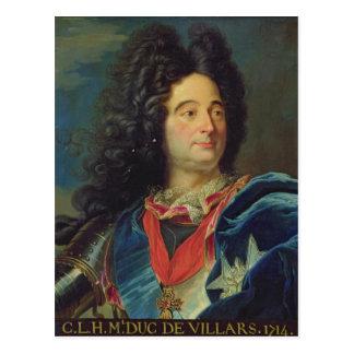 Carte Postale Portrait de duc de Louis-Claude-Hector de