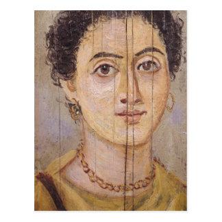 Carte Postale Portrait de Fayum d'une femme