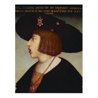 Carte Postale Portrait de Ferdinand I, empereur romain saint