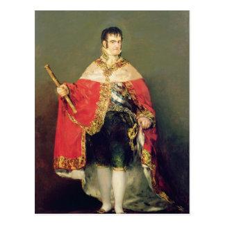 Carte Postale Portrait de Ferdinand VII 1814