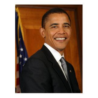 Carte Postale Portrait de fonctionnaire de Barack Obama