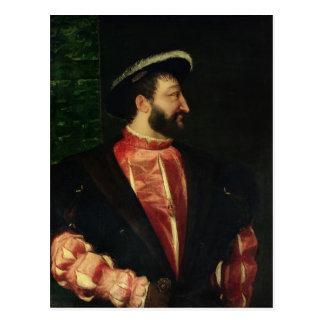 Carte Postale Portrait de Francis I 1538