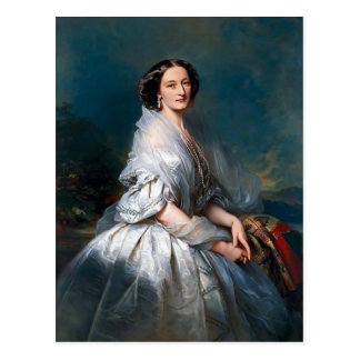 Carte Postale Portrait de Franz Winterhalter- d'Eliza Franciszka