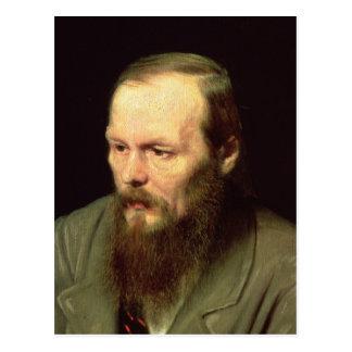 Carte Postale Portrait de Fyodor Dostoyevsky 1872