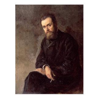 Carte Postale Portrait de Gleb I. Uspensky 1884