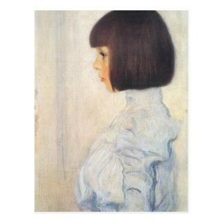 Carte Postale Portrait de Gustav Klimt de Helene Klimt