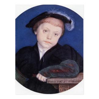 Carte Postale Portrait de Hans Holbein- de Charles Brandon