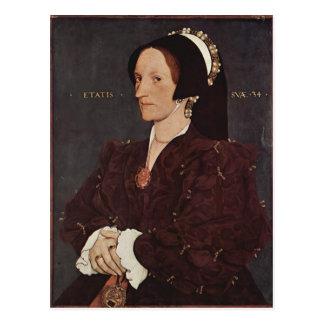 Carte Postale Portrait de Hans Holbein- de Margaret Wyatt,