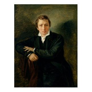 Carte Postale Portrait de Heinrich Heine 1831