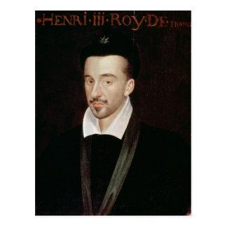 Carte Postale Portrait de Henri III