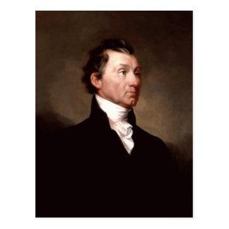 Carte Postale Portrait de James Monroe par Samuel Morse