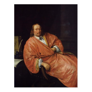 Carte Postale Portrait de janv. Steen de Gerrit Gerritsz