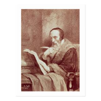 Carte Postale Portrait de Jean Calvin (1509-1564) (gravure)