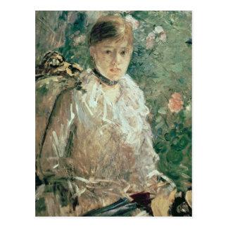 Carte Postale Portrait de jeune Madame