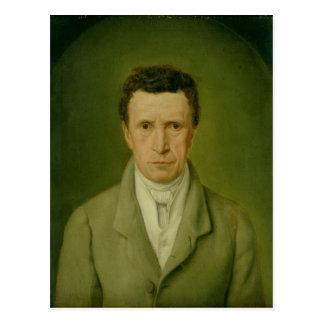 Carte Postale Portrait de Johann Friedrich Nikolaus Oldach