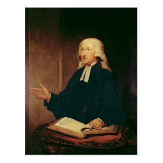 Carte Postale Portrait de John Wesley 1788