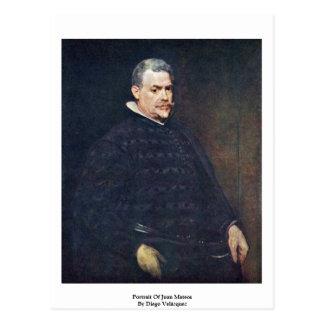 Carte Postale Portrait de Juan Mateos par Diego Velázquez