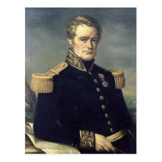 Carte Postale Portrait de Jules Dumont d'Urville 1845
