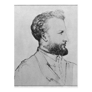 Carte Postale Portrait de Jules Verne d
