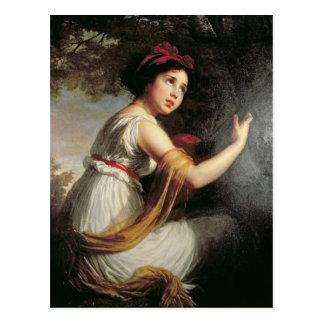 Carte Postale Portrait de Julie Le Brun, c.1797