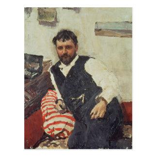 Carte Postale Portrait de Konstantin Korovin, 1891