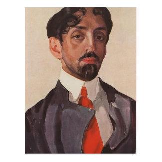 Carte Postale Portrait de Konstantin Somov- de Mikhail Kuzmin