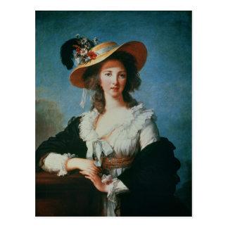 Carte Postale Portrait de la duchesse de Polignac