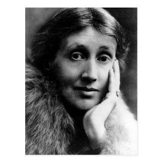 Carte Postale Portrait de la Virginie Woolf