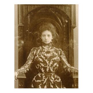 Carte Postale Portrait de l'actrice Vera Komissarzhevskaya