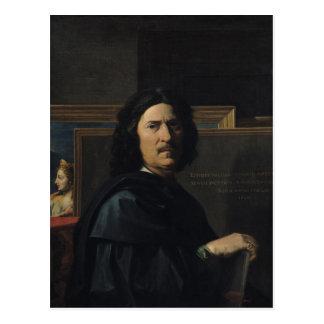 Carte Postale Portrait de l'artiste, 1650