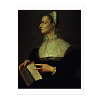 Carte Postale Portrait de Laura Battiferri, c.1555-60 (panneau)