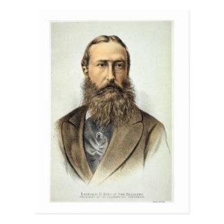Carte Postale Portrait de Leopold II (1835-1909), roi de Belgiu