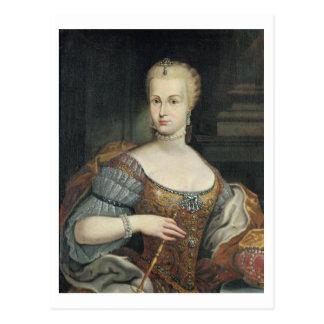 Carte Postale Portrait de l'épouse de Pietro Leopoldo di Lorena,