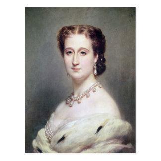 Carte Postale Portrait de l'impératrice Eugenie