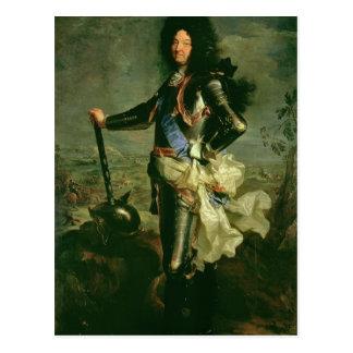 Carte Postale Portrait de Louis XIV