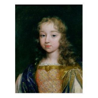 Carte Postale Portrait de Louis XIV en tant qu'enfant