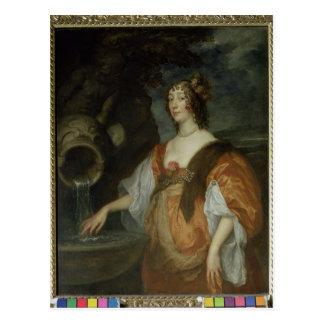 Carte Postale Portrait de Lucy Percy, comtesse de Carlisle