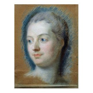 Carte Postale Portrait de Madame de Pompadour 1752
