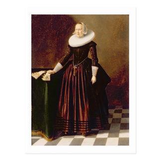 Carte Postale Portrait de Madame (huile sur le panneau)