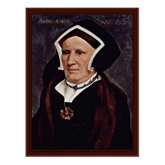 Carte Postale Portrait de Madame Margaret Butts