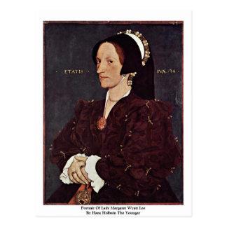 Carte Postale Portrait de Madame Margaret Wyatt Lee