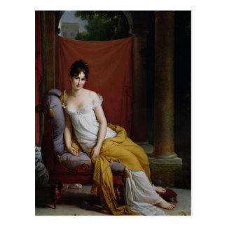 Carte Postale Portrait de Madame Recamier
