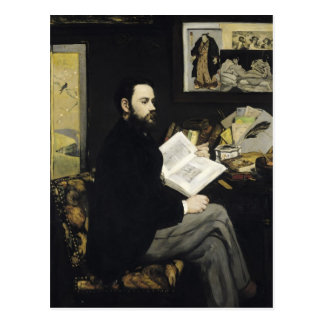 Carte Postale Portrait de Manet | d'Emile Zola 1868