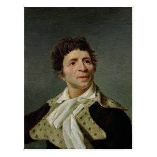 Carte Postale Portrait de Marat 1793