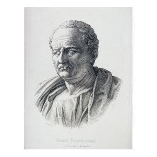Carte Postale Portrait de Marcus Tullius Cicero